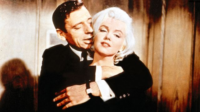 Montand et Marilyn [20th Century Fox / The Kobal Collection - AFP]