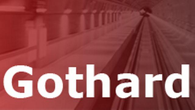 Inauguration du tunnel de base du Gothard. [Gaetan Bally - Keystone]