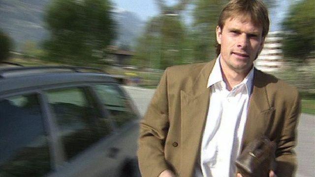 Le footballeur Alain Geiger [RTS]