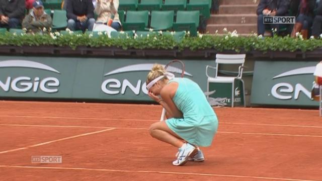 1-8 dames, V. Williams (USA) – T. Bacsinszky (SUI) (2-6, 4-6): Timea s'envole vers les quarts de finale! [RTS]
