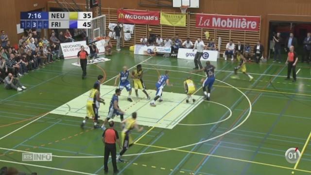 Basket : Fribourg Olympic est le nouveau champion suisse [RTS]