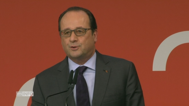 """La France s'incline devant la Suisse"", dit Francois Hollande"
