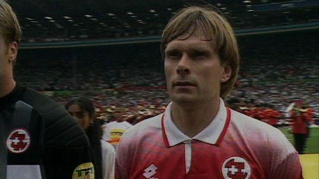 Le footballeur suisse Alain Geiger. [RTS]