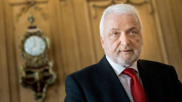 Le conseiller d'Etat socialiste fribourgeois Erwin Jutzet. [Jean-Christophe Bott - Keystone]