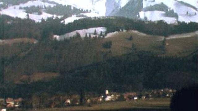 Grandvillard, village gruérien. [RTS]