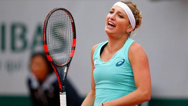 Timea va perdre au moins une place au classement WTA. [Christophe Ena - Keystone]