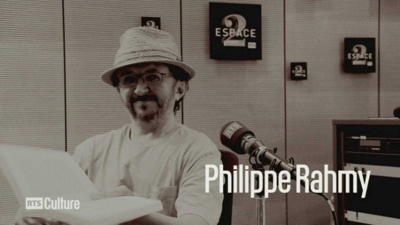 Phlippe Rahmy gagnant du Prix Rambert 2016 [RTS]