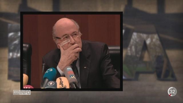 Sepp Blatter serait au centre d'un système d'enrichissement personnel de 80 millions de francs [RTS]