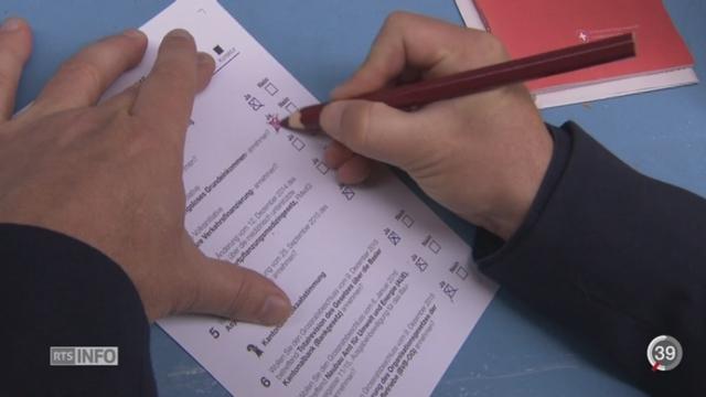 Votations - Revenu de base Inconditionnel: les défenseurs espèrent que les votations amèneront des questions [RTS]
