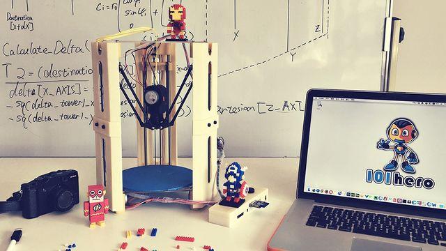 101Hero 3D Printing. [101Hero]