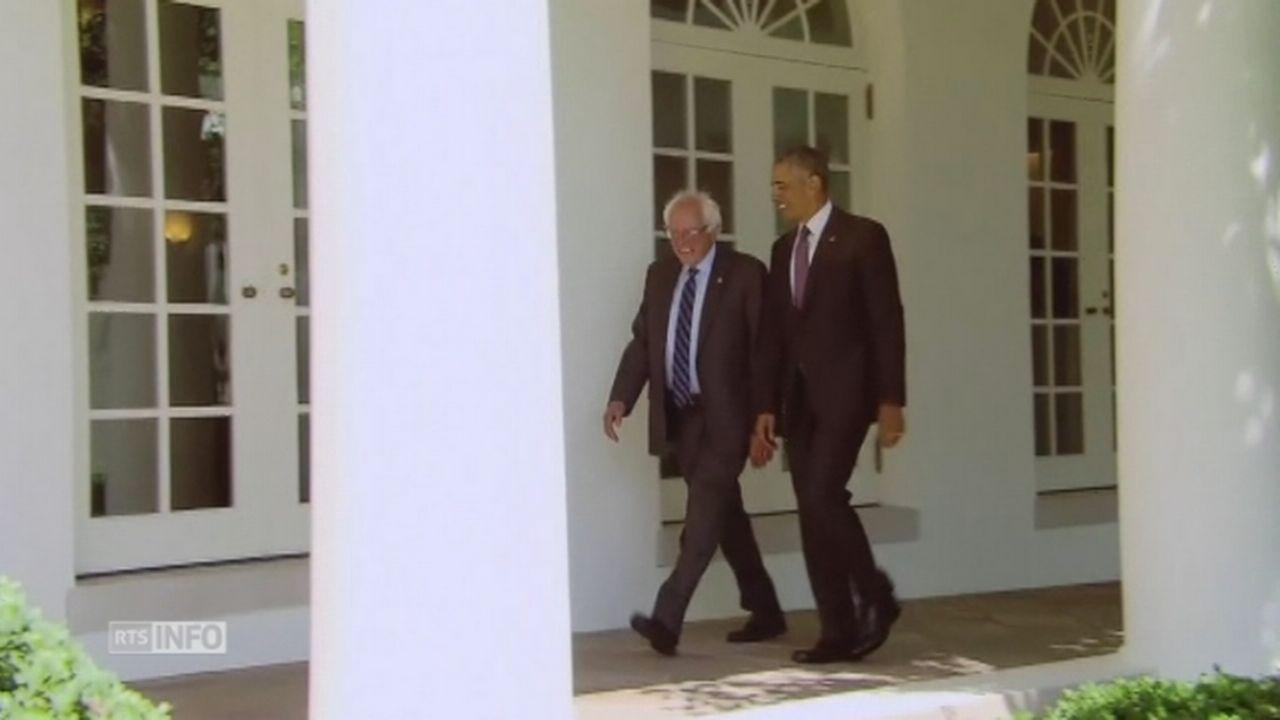 Bernie Sanders rencontre Barack Obama [RTS]