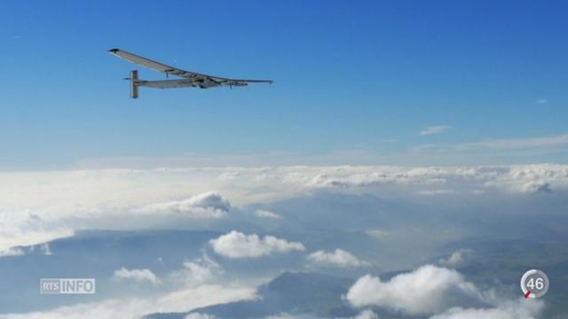 Solar Impulse s'est posé avec succès à New York [RTS]