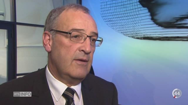 Le conseiller fédéral Guy Parmelin a lancé la campagne sur la nouvelle loi sur le renseignement [RTS]
