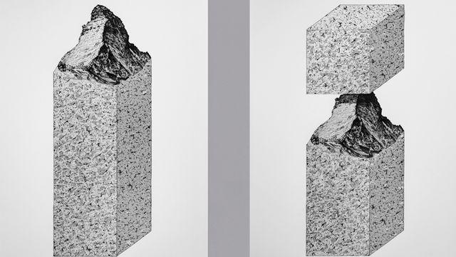 A3 Studio (Priscilla Balmer & Yvo Hählen), Monument, 2015, sérigraphies. [Priscilla Balmer & Yvo Hählen - © A3 Studio]