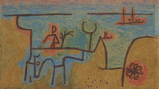 Au bord du Nil, Paul Klee [© Musée cantonal des Beaux-Arts de Lausanne]