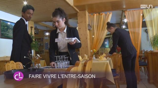 VD: des apprentis en hôtellerie logent et se forment au même endroit [RTS]