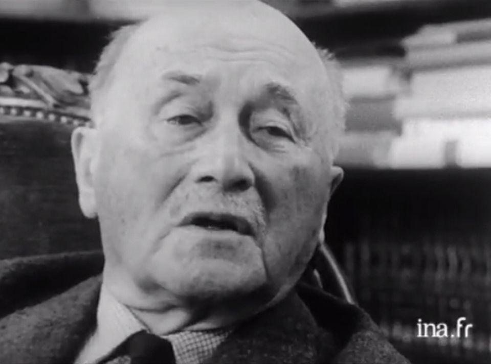 Jean Monnet à propos de la SDN. [INA]