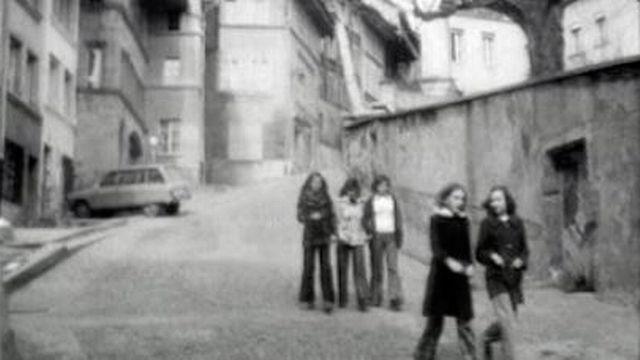 Rue du Stalden à Fribourg. [RTS]