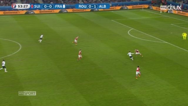 Gr. A, FRA-SUI (0-0): Le ballon ne tient pas le coup! [RTS]