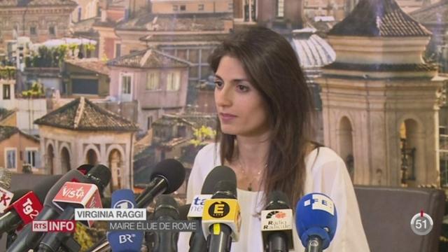 Italie: Rome sera désormais gouvernée par une femme [RTS]