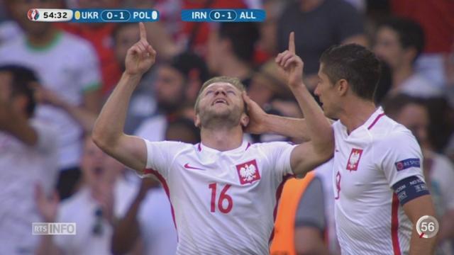 Euro 2016: la Suisse rencontrera la Pologne en huitièmes de finale [RTS]