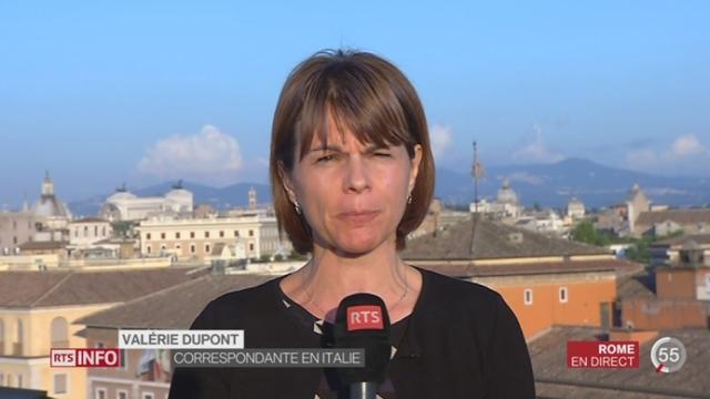 Italie - Nouvelle maire de Rome: les précisions de Valérie Dupont depuis Rome [RTS]