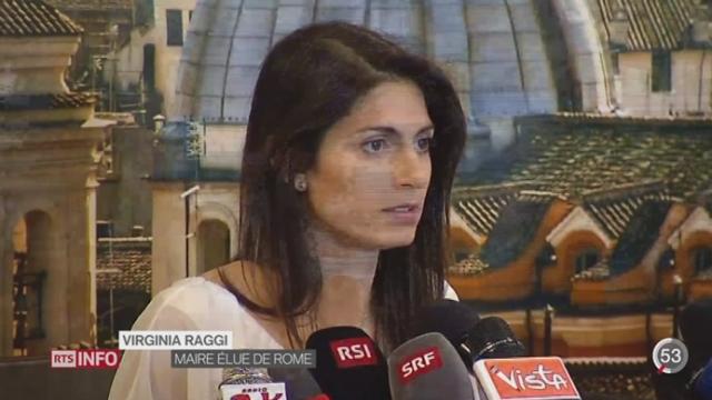 Italie: la ville de Rome a élu une femme à la tête de la mairie [RTS]