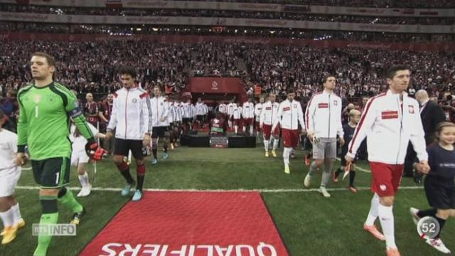 Football - Euro 2016: la Pologne est un adversaire solide mais prenable pour la Suisse [RTS]