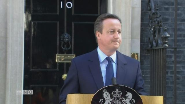 David Cameron annonce sa démission [RTS]