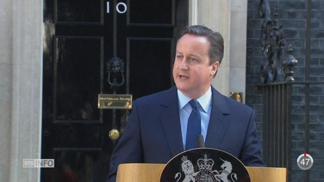 Brexit: le Royaume-Uni a dit oui au bout d'une longue nuit de suspens [RTS]