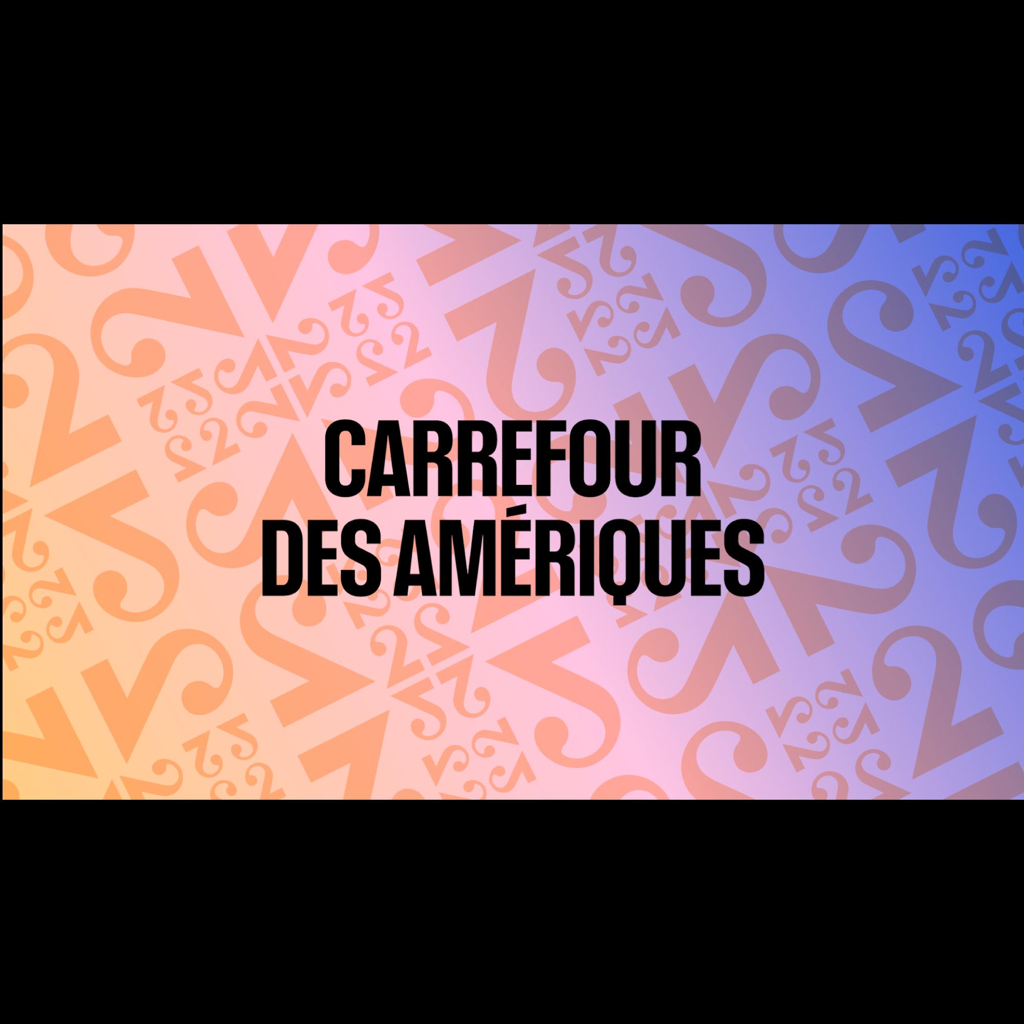 Logo Carrefour des Amériques [RTS]