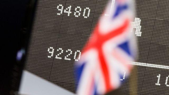 La bourse de Francfort a clôturé en baisse de 6,82%. [FRANK RUMPENHORST - EPA/KEYSTONE]