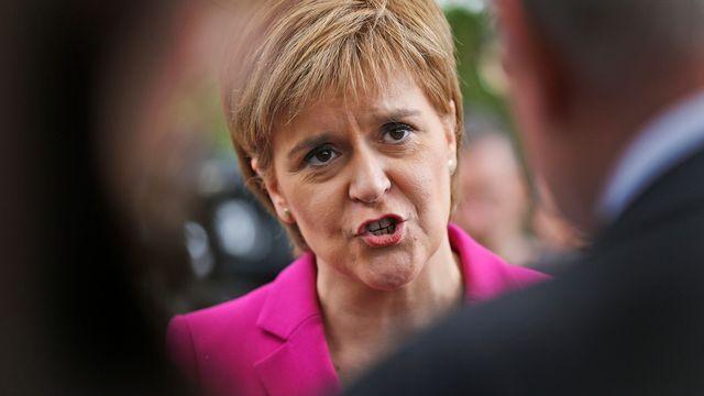 La Première ministre Nicola Sturgeon estime qu'il faut protéger la place de l'Ecosse dans l'UE. [Frank Augstein - Keystone]
