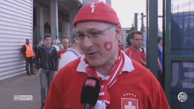 Euro 2016: la tension était palpable à St-Etienne [RTS]