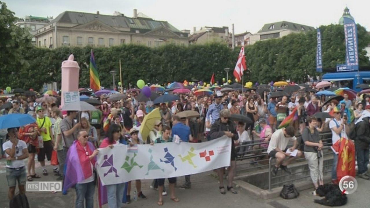 FR: 5000 personnes ont défilé pour la Gay Pride [RTS]