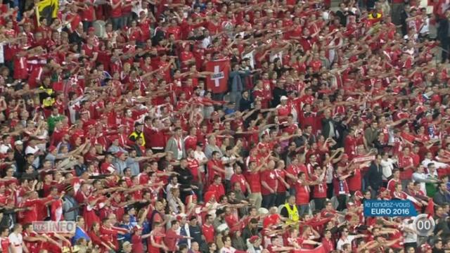 Euro 2016: les regrets et le goût d'inachevé s'emparent de l'équipe de Suisse après son échec en 1-8 de finale [RTS]