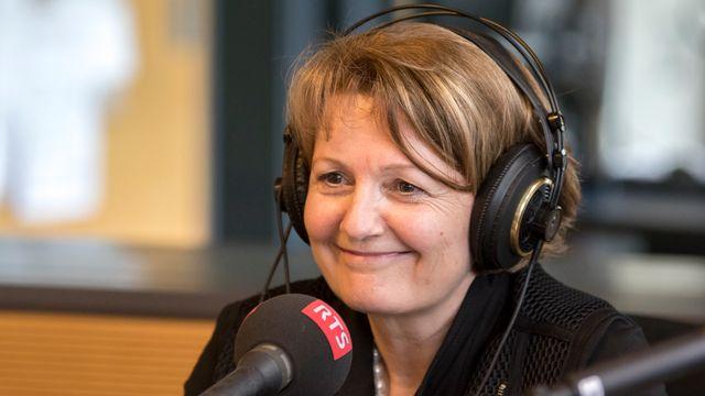 Sylvie Durrer. [Julien Audemars - RTS]