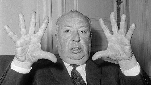 Alfred Hitchcock, le maître du suspense. [STF - AFP]
