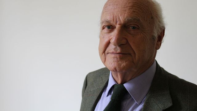 Pierre Nora, historien français, en 2013 à Paris. [Charles Sigel - RTS]
