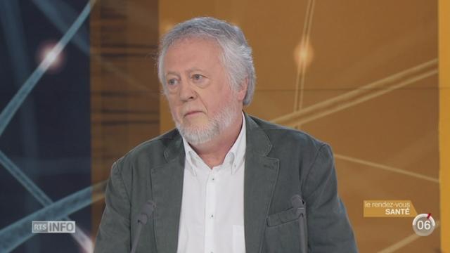Le rendez-vous santé: Martial van der Linden s'intéresse à la mémoire sous toutes ses formes [RTS]