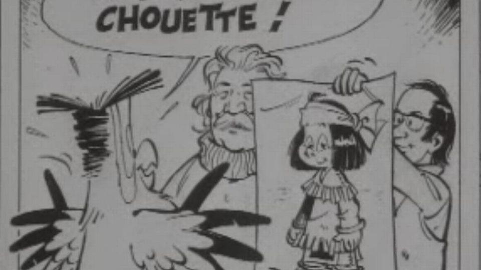 Bande dessinée Yakari réalisée par Derib et Job en 1970 [Capture Ecran Livres pour toi 1970 - RTS]