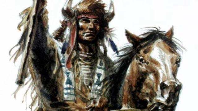 Un Indien dessiné par Derib [RTS]