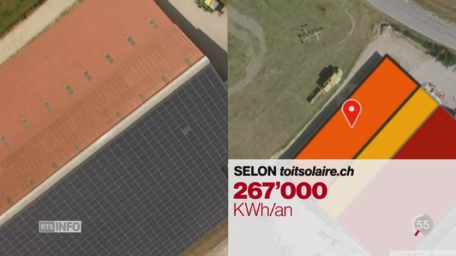 L'énergie solaire sera nécessaire pour une sortie du nucléaire [RTS]