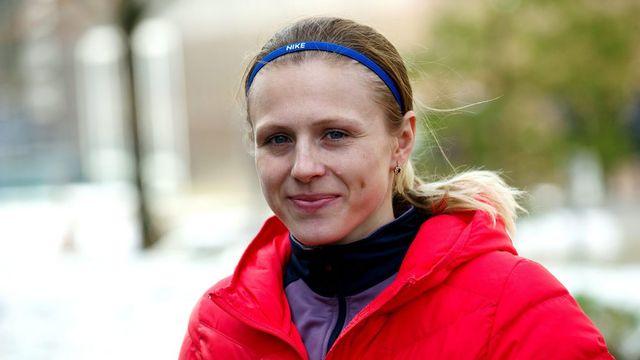 Yulia Stepanova pourra participer aux JO de Rio sous drapeau neutre. [Paul Zinken - Keystone]