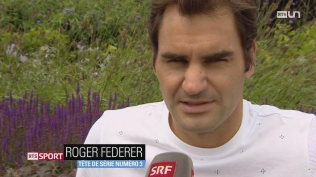 Tennis - Wimbledon: l'essentiel de l'actualité du tournoi [RTS]