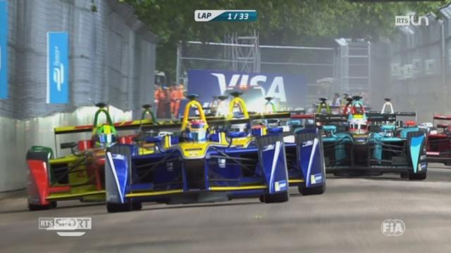 Automobile - Formule E: Sébastien Buemi a remporté le championnat du Monde [RTS]