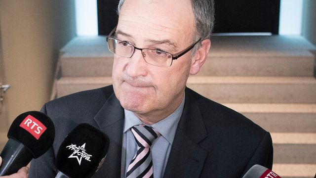 Le conseiller fédéral Guy Parmelin. [Peter Schneider - Keystone]