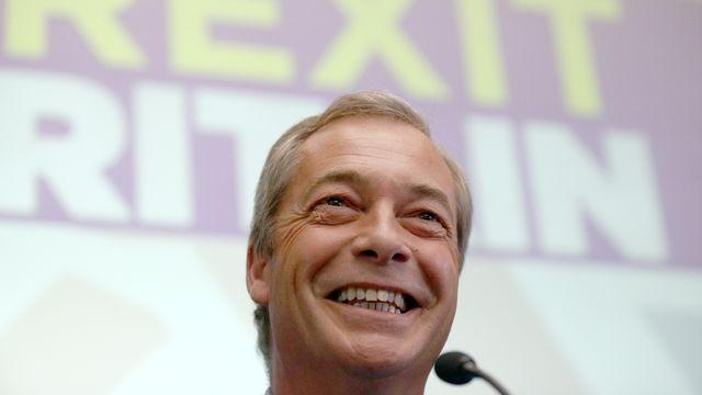 Nigel Farage a annoncé son départ de la tête de l'Ukip à Londres le 4 juillet. [Neil Hall - Reuters]