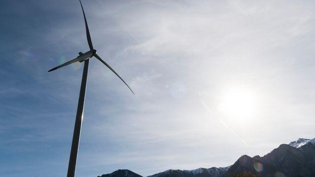 Aucune turbine ne tourne dans le canton de Vaud, mais 19 projets sont inscrits à la planification. [Keystone]