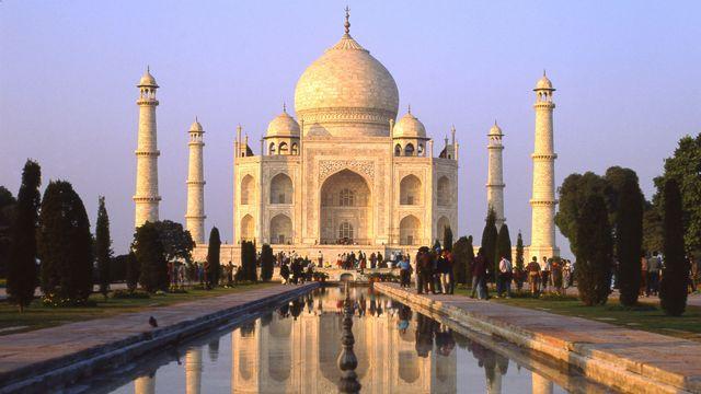 Taj Mahal à Agra, dans l'état indien de l'Uttar Pradesh. [Tibor Bognar - Photononstop / AFP]